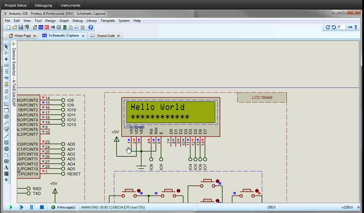 Proteus Vsm For Arduino Avr Cng Ty Tnhh Thit B Khoa Hc V Led Circuit Simulation Using Atmel Studio And